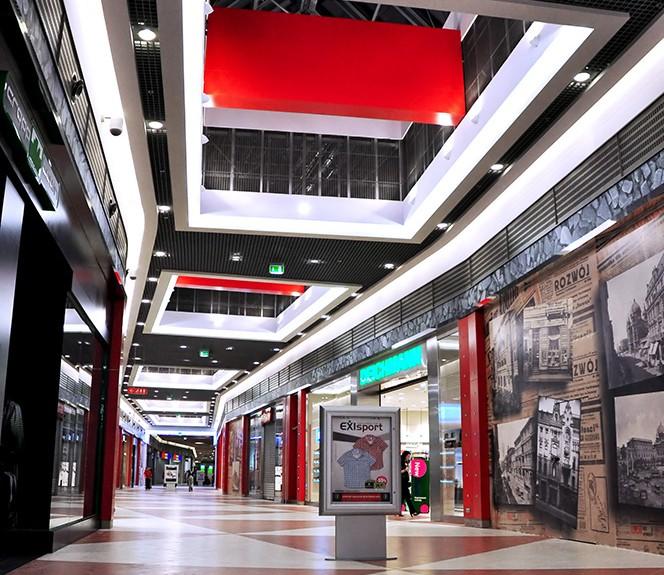 interior design for Shopping Centre Port Łódź