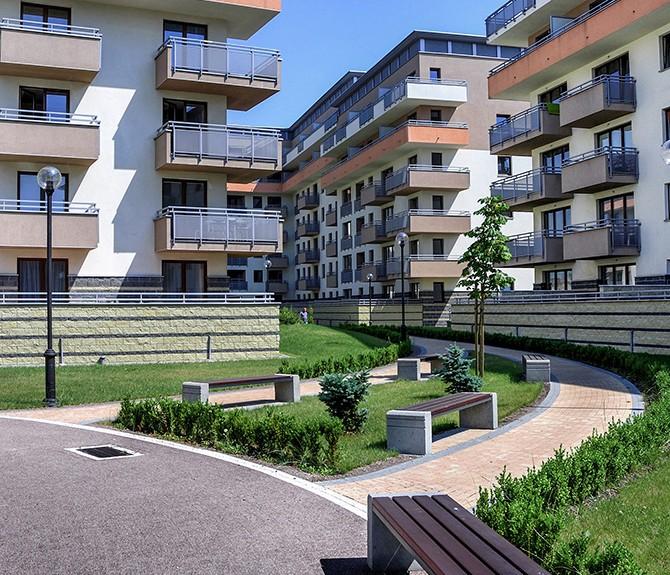 housing estate, Kraków, ul. Przewóz
