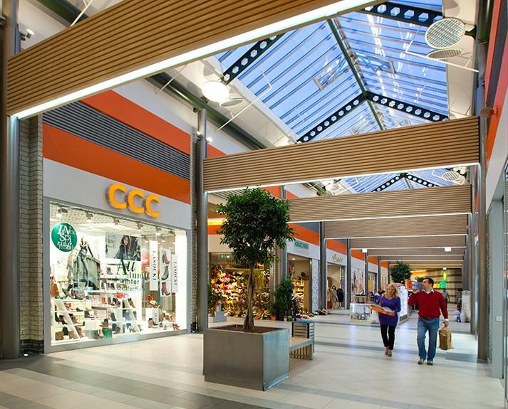 interior design for Shopping Centre Raj, Dębica