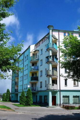 Residential building in Krakow – Grota Roweckiego st.