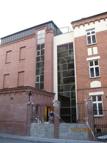 The Augustianki School in Krakow – expansion